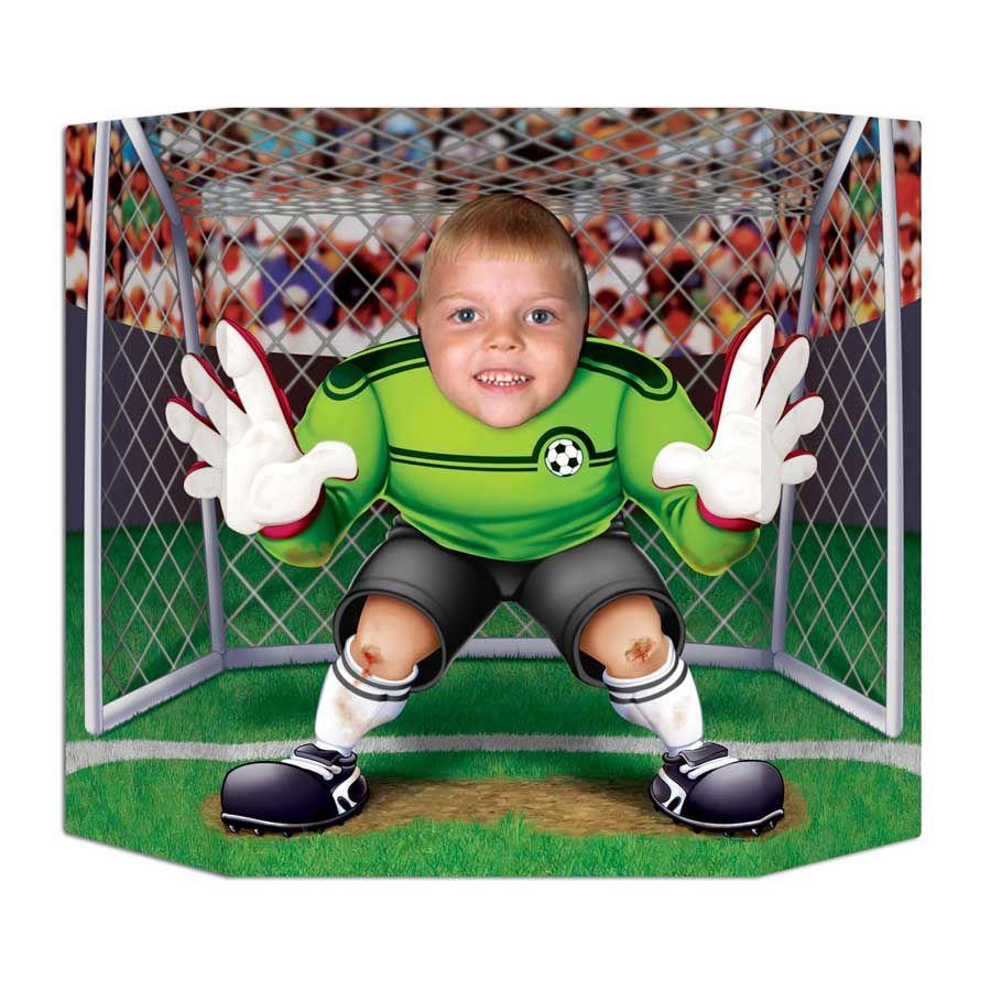 fun photo foot goal pour l 39 anniversaire de votre enfant. Black Bedroom Furniture Sets. Home Design Ideas