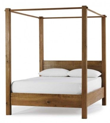 pleasant 4 poster bed frame. Vintage Fir Poster Bed  2 375 00 Viva Terra A Mt Pleasant