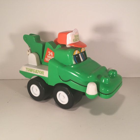 Vintage Toy Tow Truck the Towgator