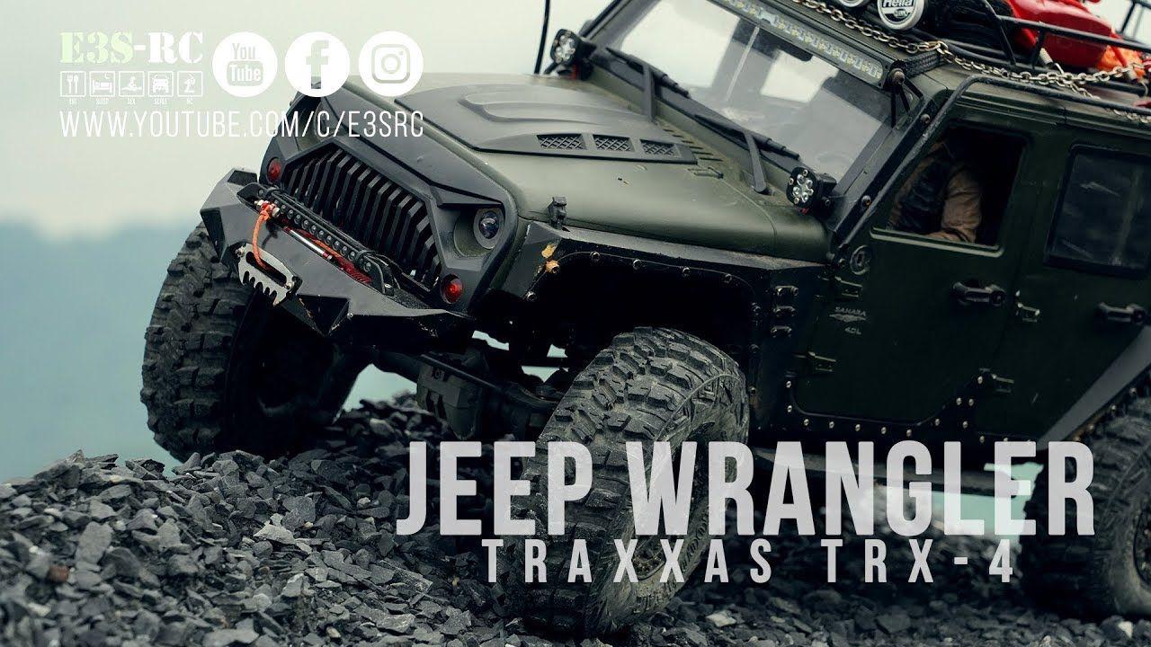 Traxxas Trx 4 Jeep Wrangler Rubucon Rc Jeep 4x4 Off Road E3s