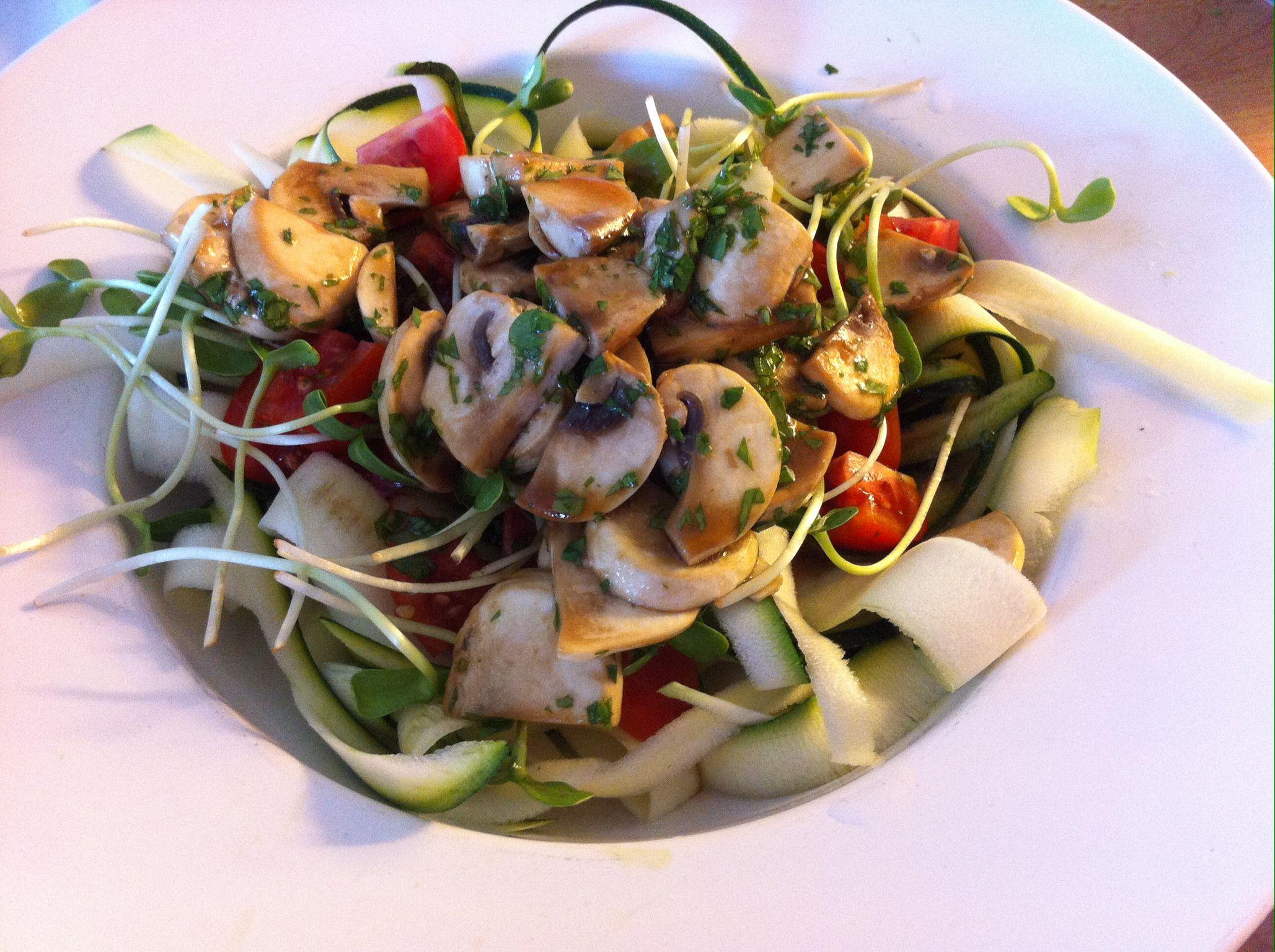 raw food sallad