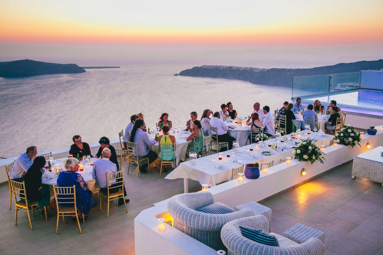 Santorini Wedding Photographer La Maltese Estate Villa Imerovigli Greece