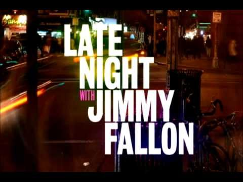 Bon Iver & Roots Jam on Late Night with Jimmy Fallon