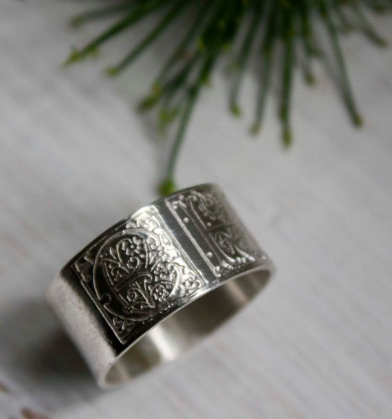 Sincere Commitment Two Initials Sterling Silver Illumination Square Ring Uni Engagement Wedding