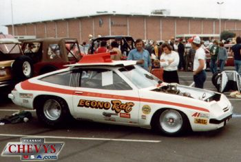 Econo Rat A Chevy Monza Drag Car Chevy Vintage Muscle Cars