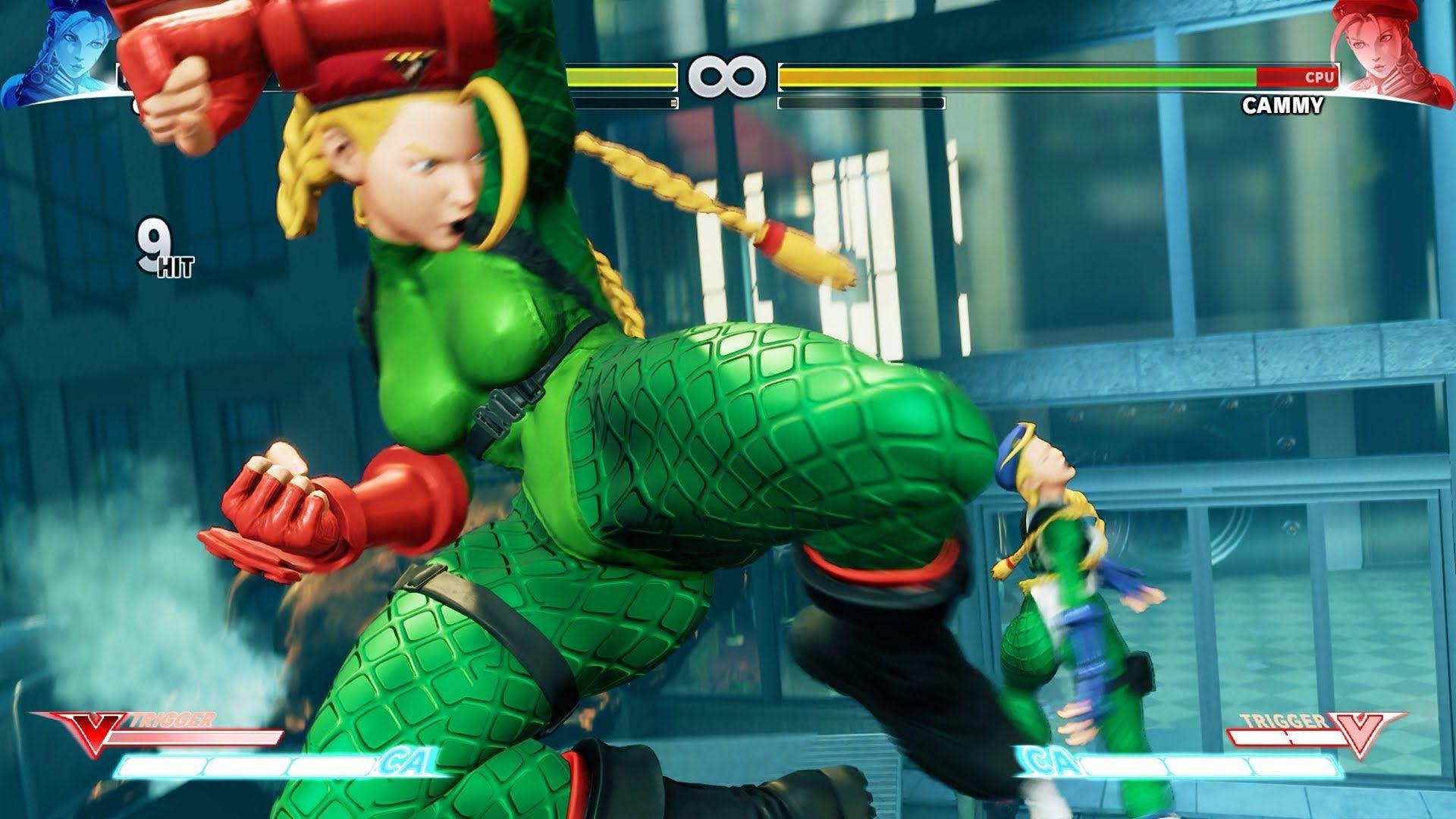 Street Fighter V PC Mod Battle Suit Cammy Costume / Skin
