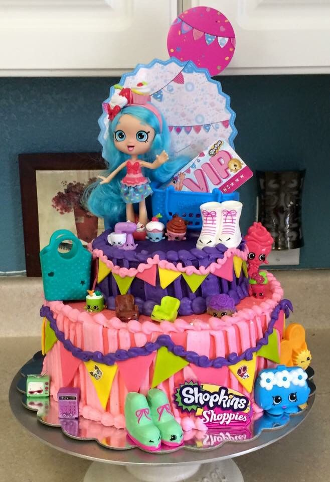 Its Fun To Put Toys On The Cakes Kids Love That Birthday Cake Girls