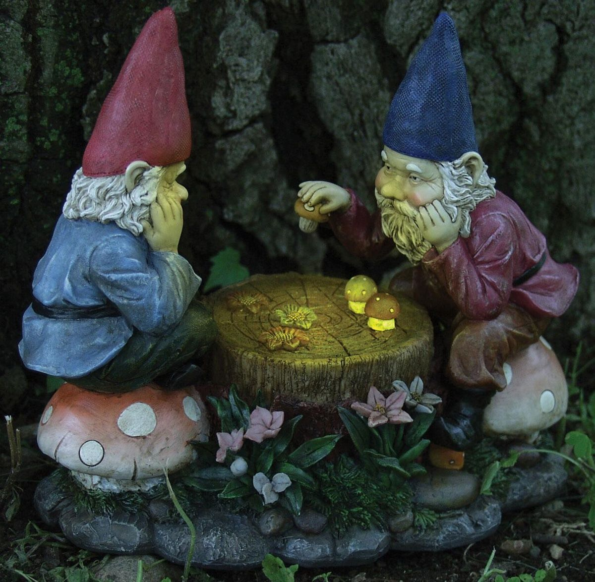 lawn outdoor yard present Finished Ceramic Gnome sun room decor centerpiece gnomeo flower bed porch decoration juliet gnome
