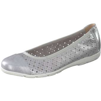 new styles 10049 fc6c7 Leone Comfort Ballerina Damen silber #schuhe #fashion #shoes ...
