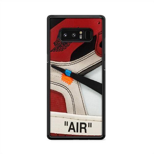 size 40 e399c 595d0 THE 10 Air Jordan 1 OFF White Samsung Galaxy Note 8 Case   Caserisa ...