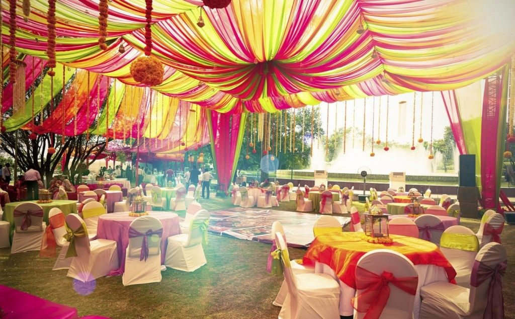 Day To Night Indian Wedding Decor