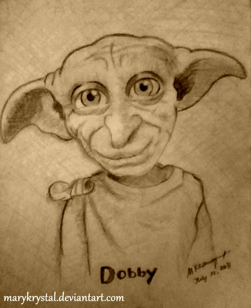 Dobby Drawings Google Search Sketching And Prints Pinterest