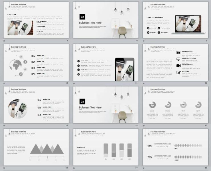 27 red fantasy charts report powerpoint template download item