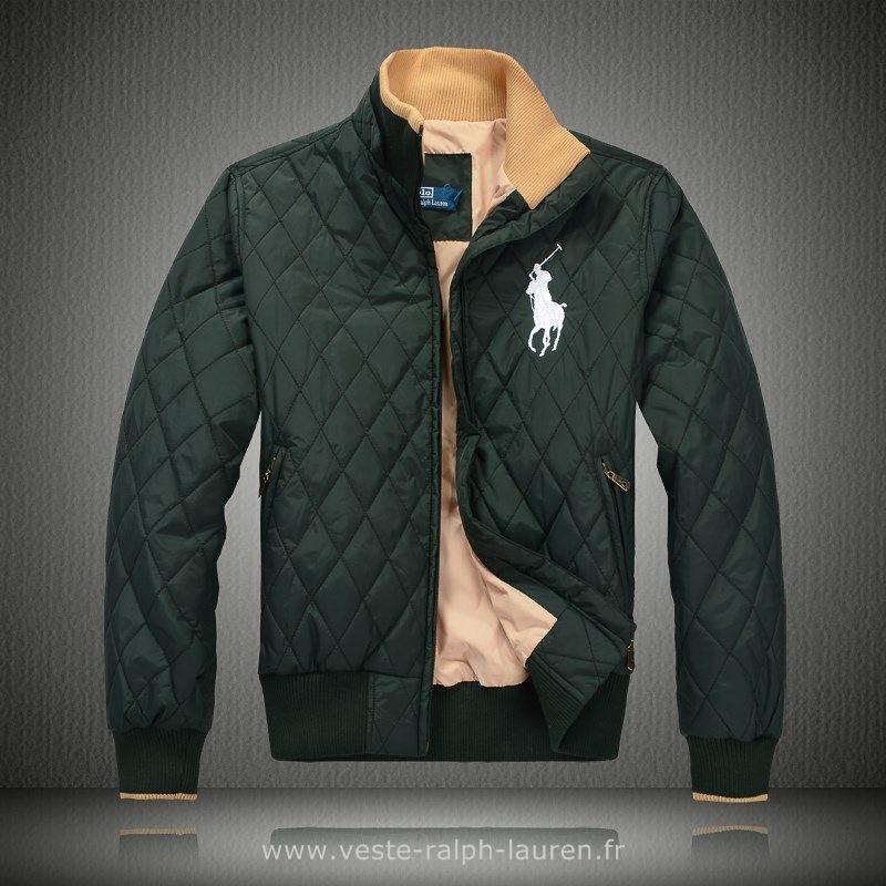 13765bd4c77 Polo officiel - 2013 doudoune polo hommes etats unis est la remise etoiles  vert Doudoune Ralph Lauren Sans Manche Homme