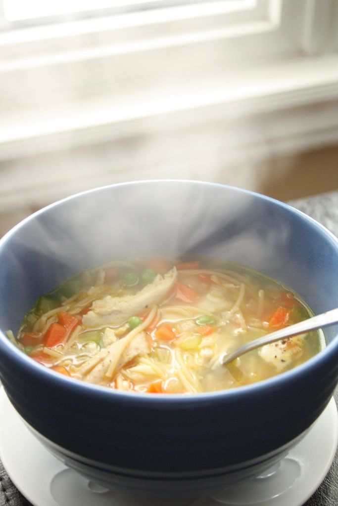 Make this Chicken Noodle Soup when you have zero energy and are in need of a ton of comfort! Super fast and easy.