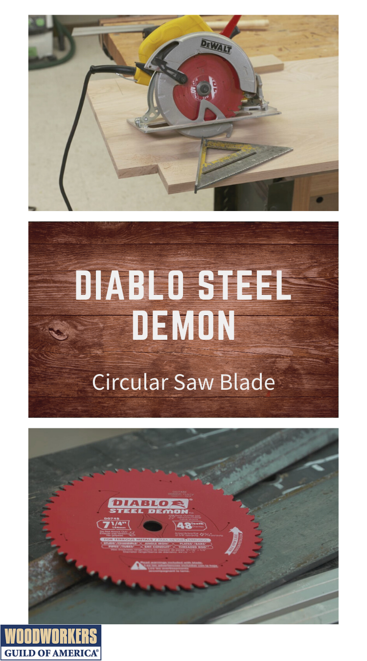 Diablo Steel Demon Circular Saw Blade Review In 2020 Circular Saw Blades Circular Saw Woodworking Projects Diy