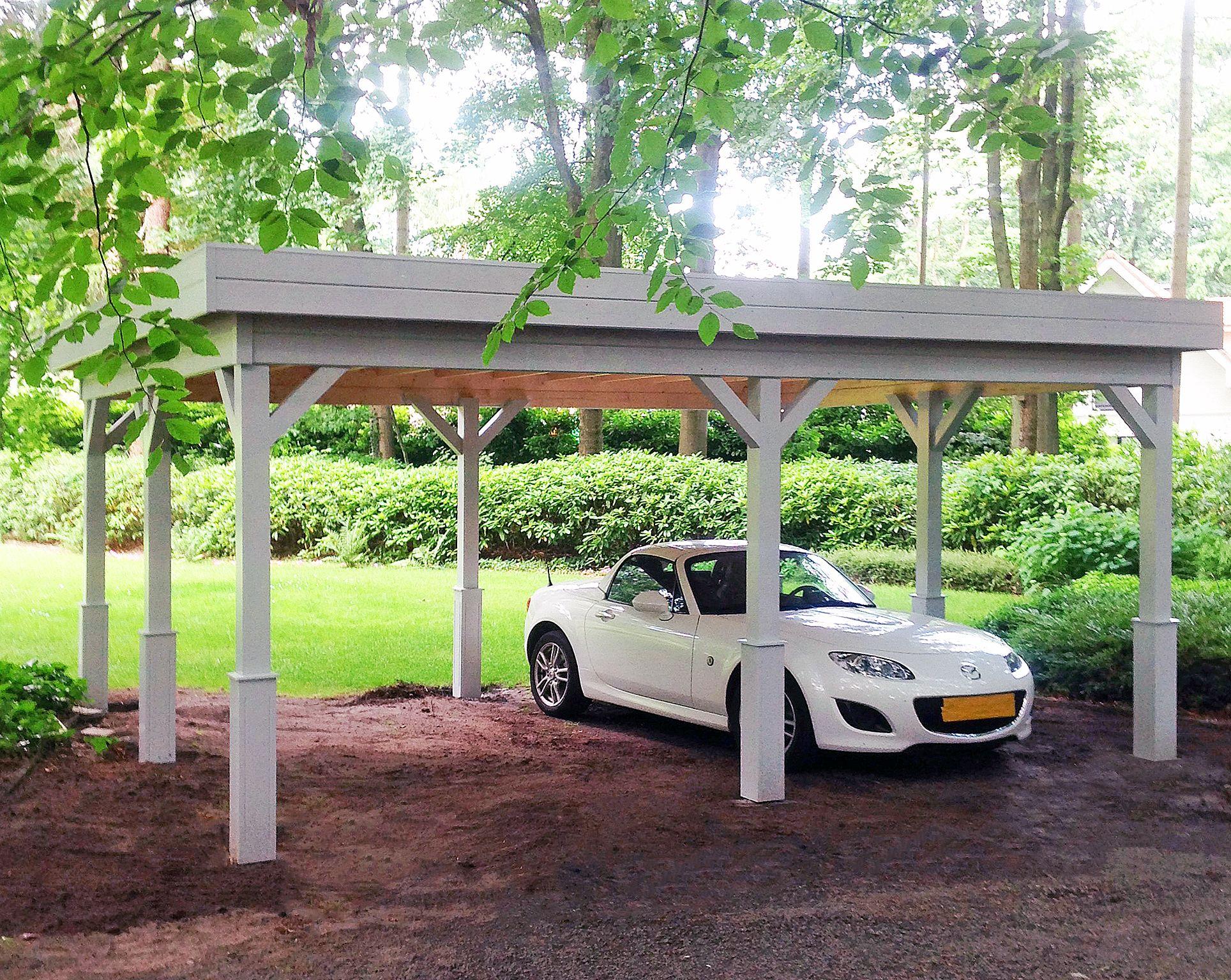 Houten Garage Topkwaliteit garages sinds 1978 Carport