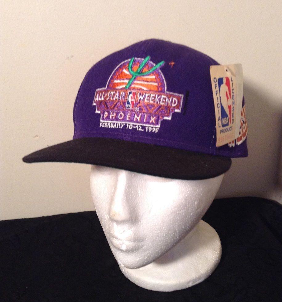 980be770bba27 NWT Vintage 95 NBA ALL STAR WEEKEND SNAPBACK HAT Purple Phoenix Suns   SportsSpecialties  NBA