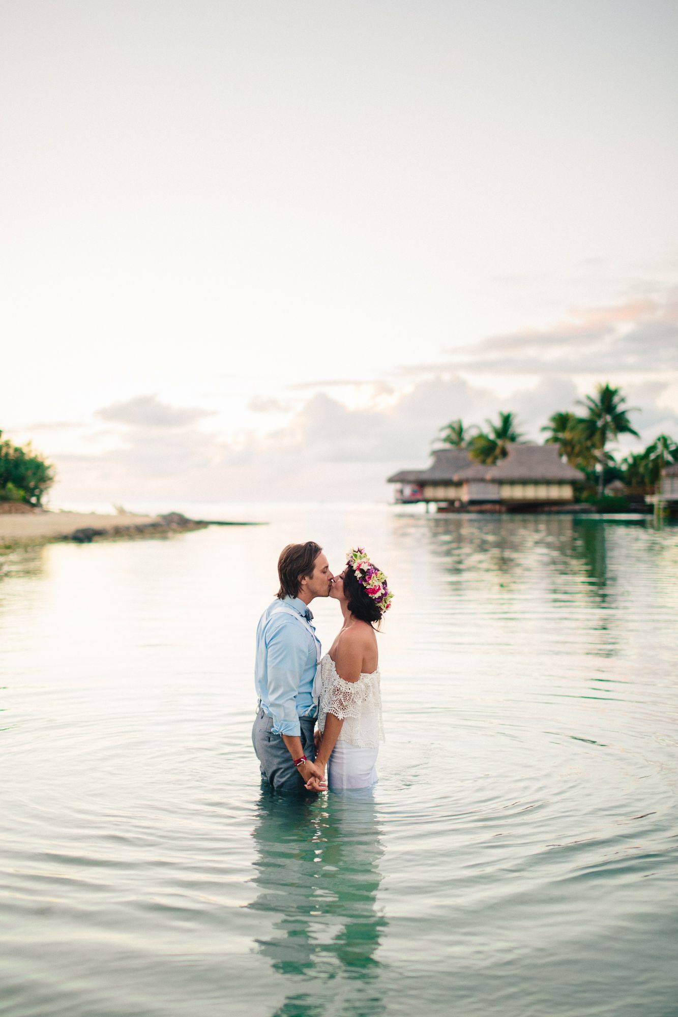 Moorea Tahiti Wedding, At The InterContinental Resort