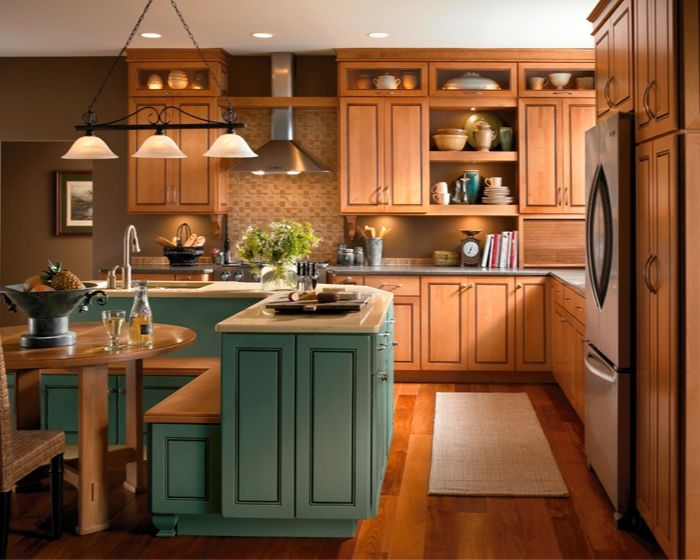 Tremendous Kitchen Cabinet Bench Seating With Over The Kitchen Sink Pendant Lights Also Mint