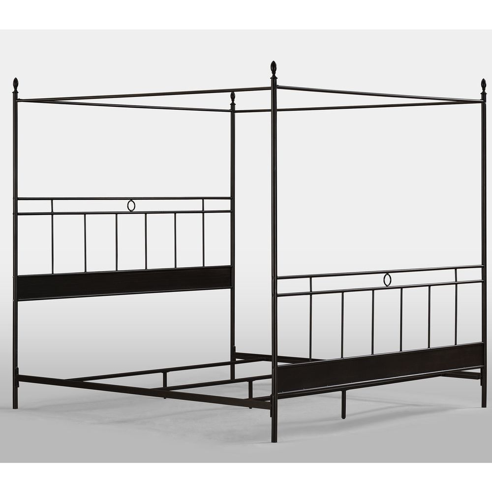 Cara King Metal Canopy Bed | Overstock™ Shopping - Great Deals on Beds  sc 1 st  Pinterest & Cara King Metal Canopy Bed | Overstock™ Shopping - Great Deals on ...