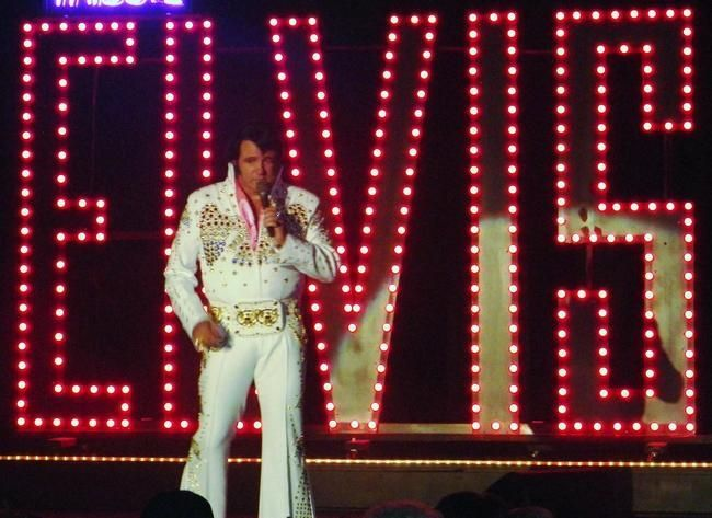 If you've recently heard of Elvis Presley sighting in Kent County, they're true.