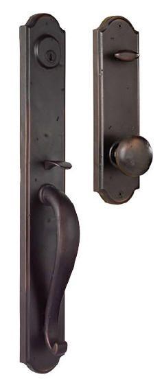 The wiltshire handle set home decor doors wood - Home hardware exterior door handles ...