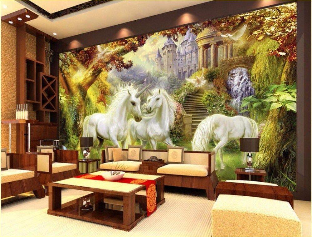 Stunning Living Room Murals Decorations Design - Craft and Home Ideas#craft #decorations #design #home #ideas #living #murals #room #stunning