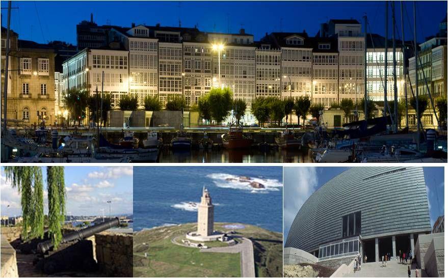 A Coruña,ciudad de cristal.