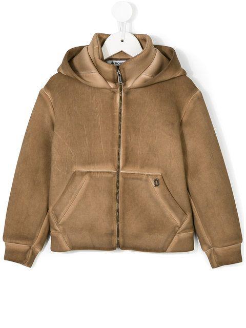 Dondup Kids hooded bomber jacket