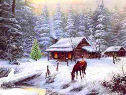 Beautiful Western Snow Scenes