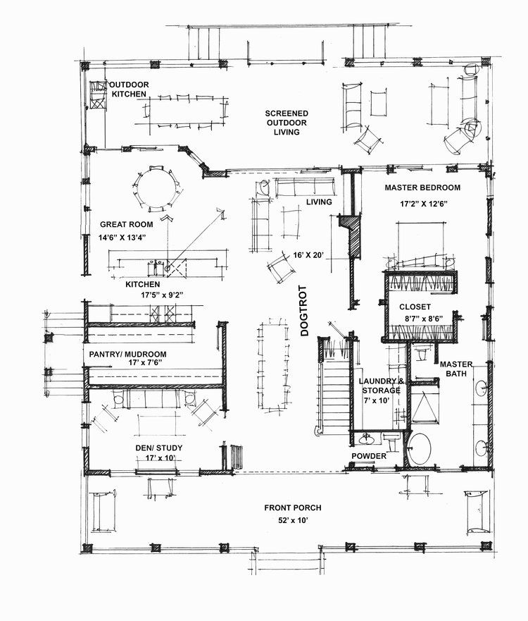 Sweet Bay Photographs | Dog trot house plans, Cabin house ...