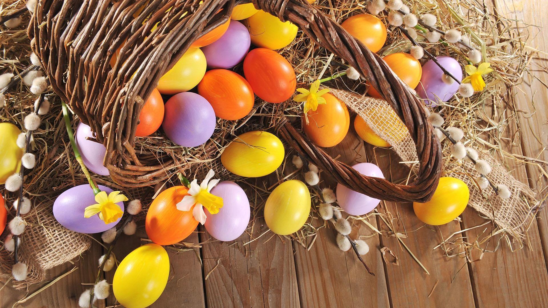 Colorful Easter Eggs [19201080] Hdwallpaper wallpaper
