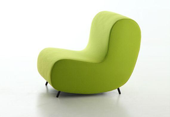 Fauteuil design confortable Simple - Sledge | Notre mobilier ...