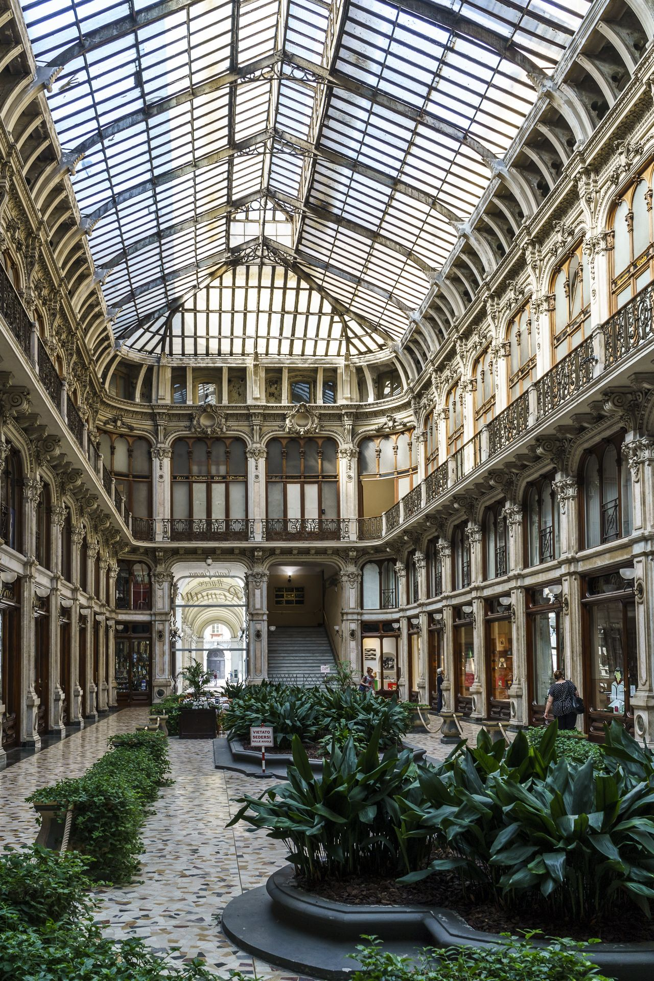Amazing gallery in Turin