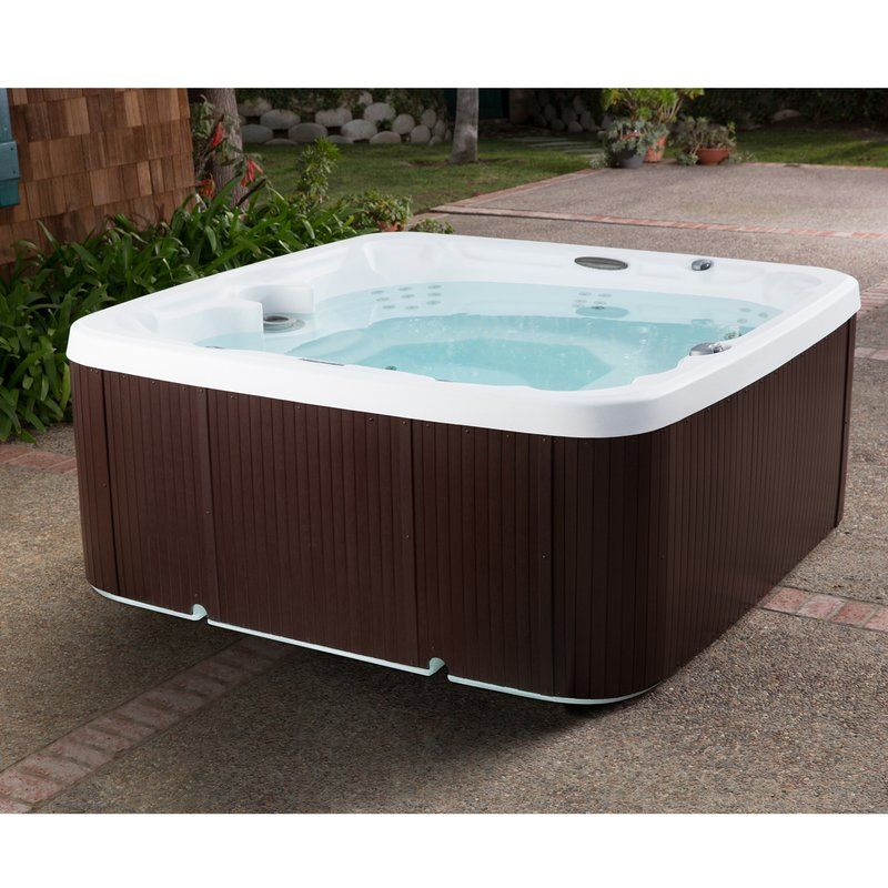 Hydromaster DLX 7-Person 65-Jet Spa with Waterfall and Ozone System ...