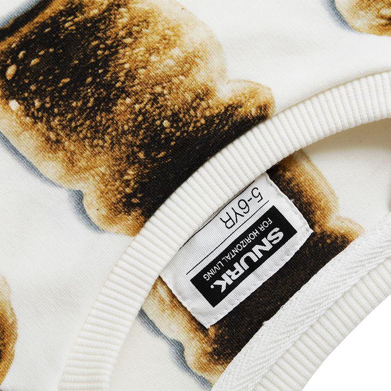 Homewear toast - SNURK https://www.livingdesign.be/nl/merken/snurk-beddengoed/kids