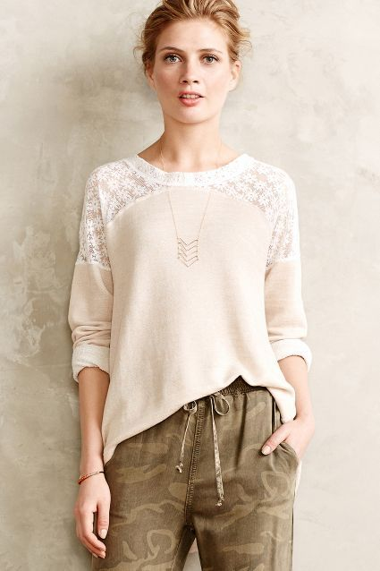 Ingress Lace Pullover - anthropologie.eu