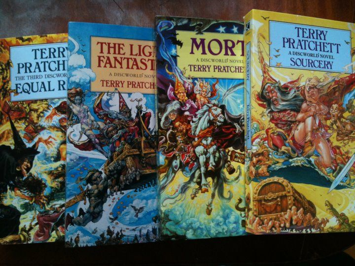 Something I've been meaning to collect for a while now: #pratchett #discworld