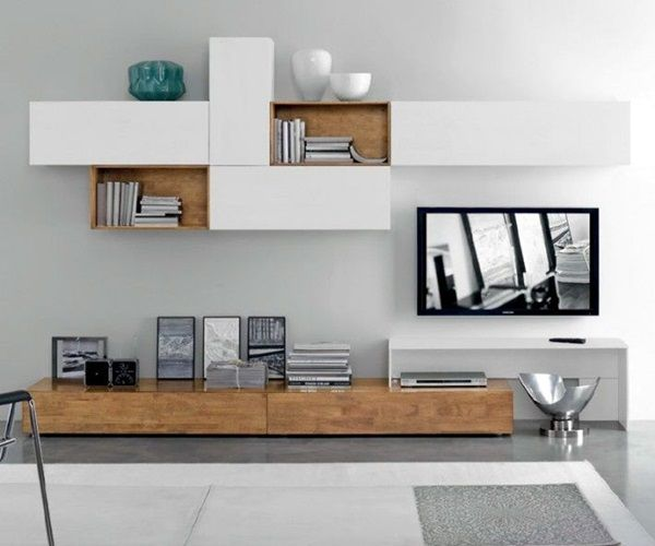 Ideas de configuración de la unidad de pared para TV únicos (4)