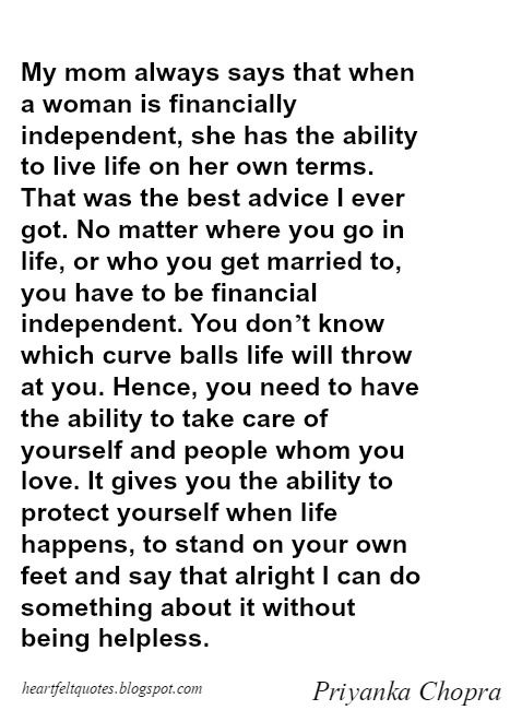 Financially Independent Woman Quotes : financially, independent, woman, quotes, Matter, Where, Life,, Married, Financial, Independent., Independent, Quotes,, Words, Stress, Quotes