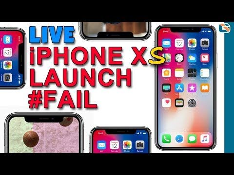 Live iPhone Xs Max & Apple Watch Series 4 Launch Apple