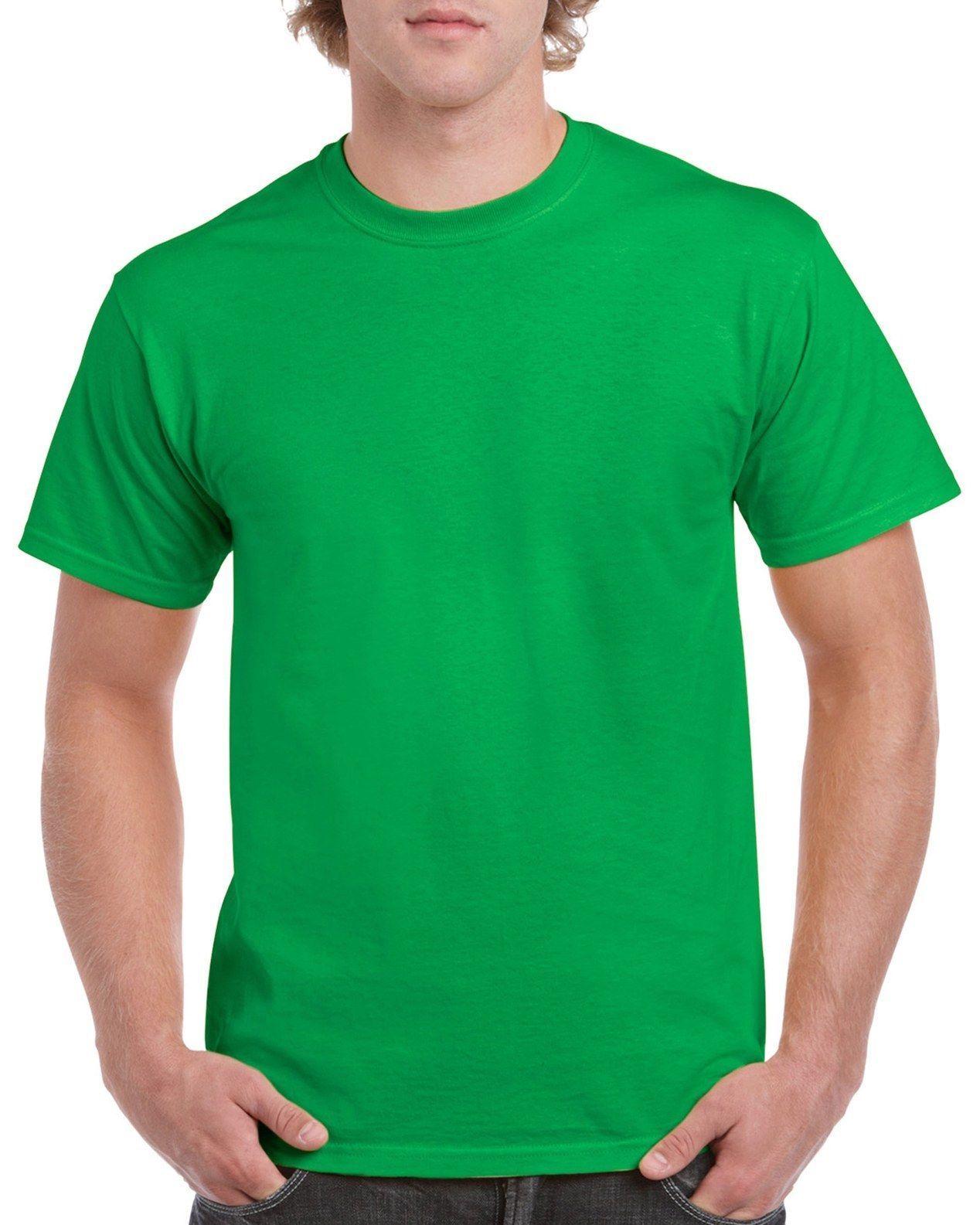 Download Green Gildan 5000l Men S Plain 100 Cotton Blank T Shirt Tee Sizes S 2xl Kaos Desain