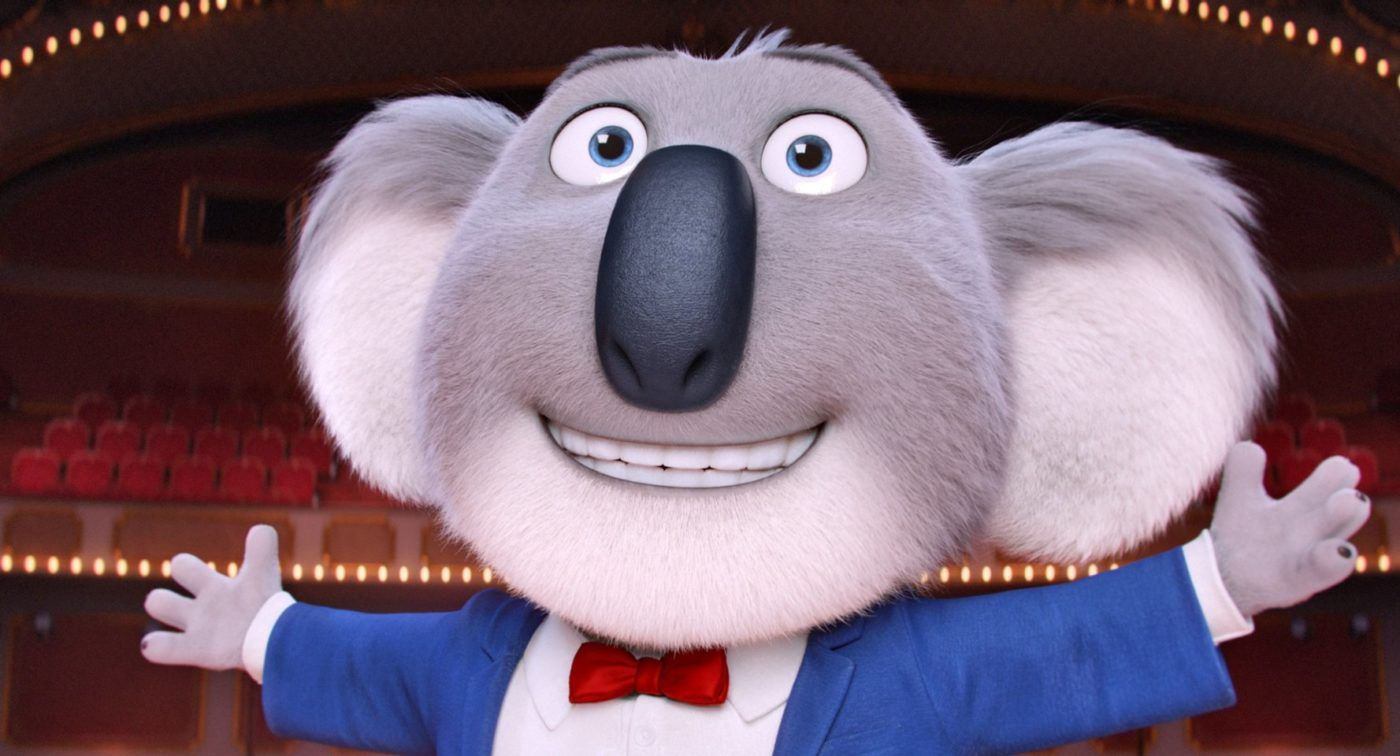 MOVIE REVIEW:  There's not a false note in SING. . . . .but for it ending. Most entertaining and fun film of the year!