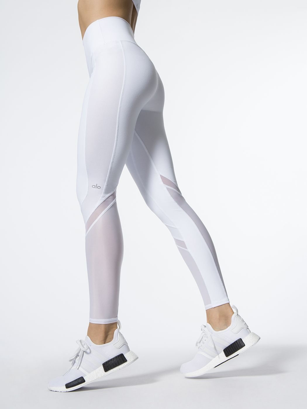 nike legging white