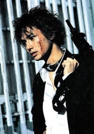 Kazou Kiriyama, the genius psychopath of Battle Royale. He's definitely A LOT better in the movie than the book.