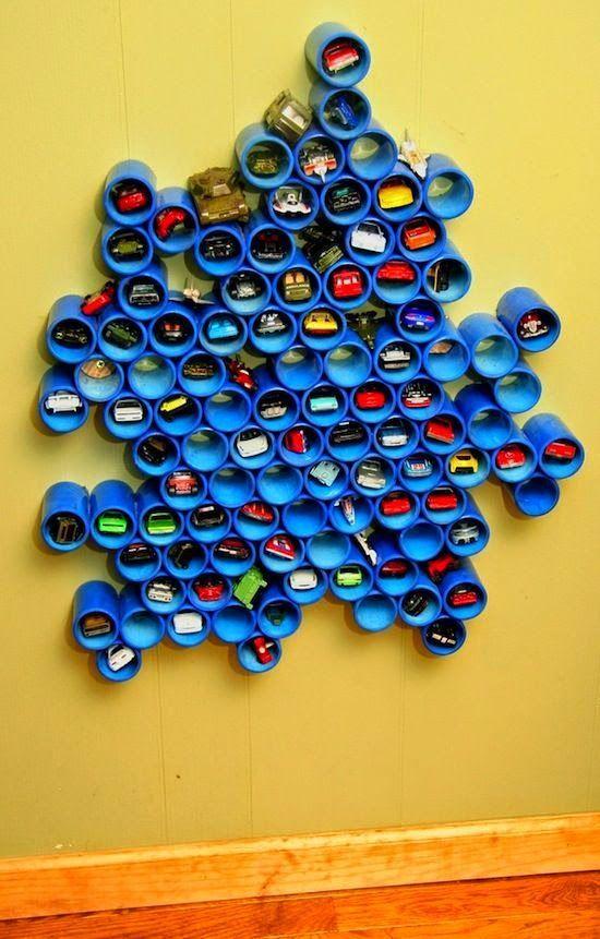 Quarto Infantil: Como Organizar os Carrinhos de Br