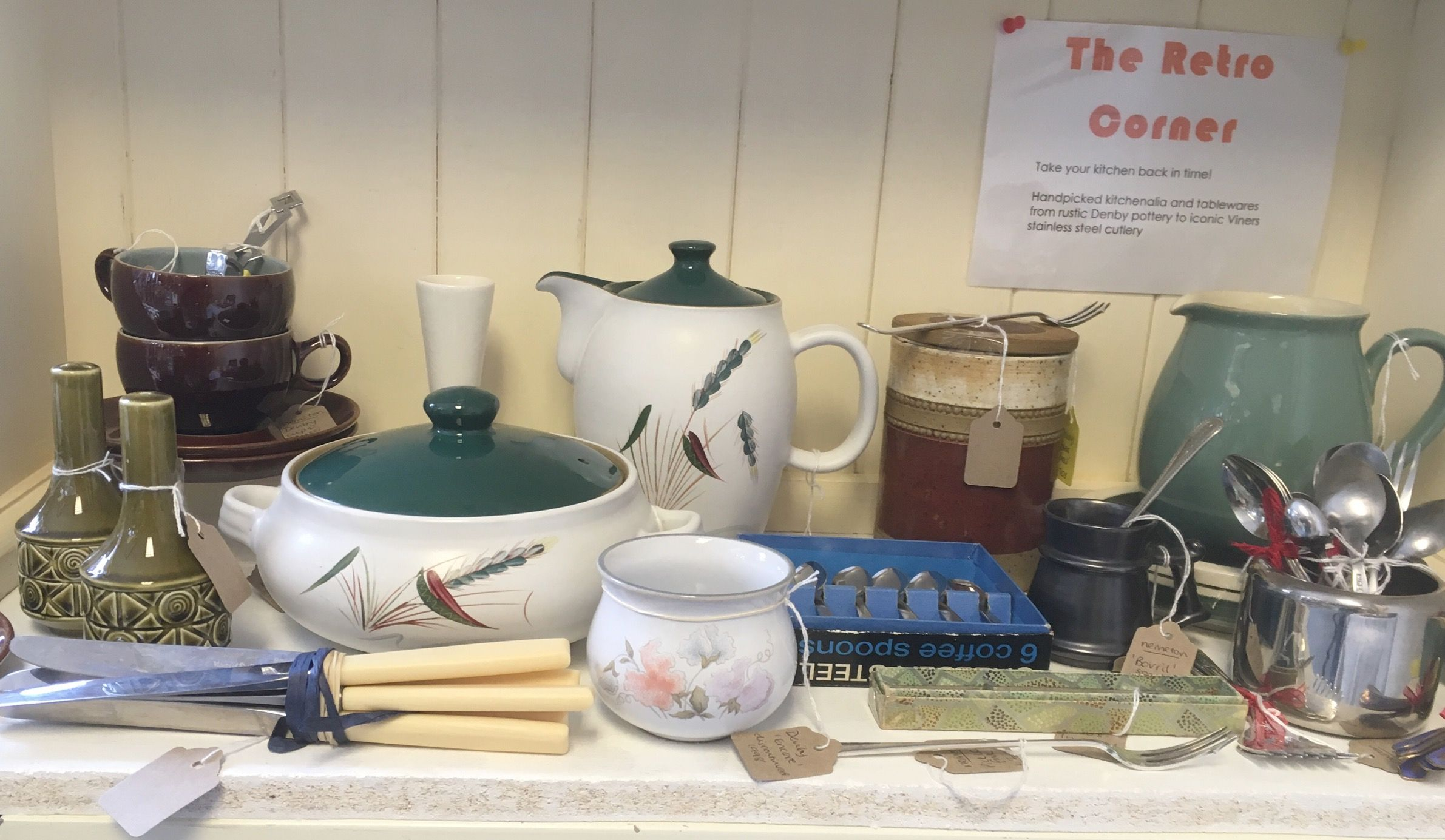 My Retro Corner has some lovely discontinued Denby pottery and Viners cutlery & My Retro Corner has some lovely discontinued Denby pottery and ...