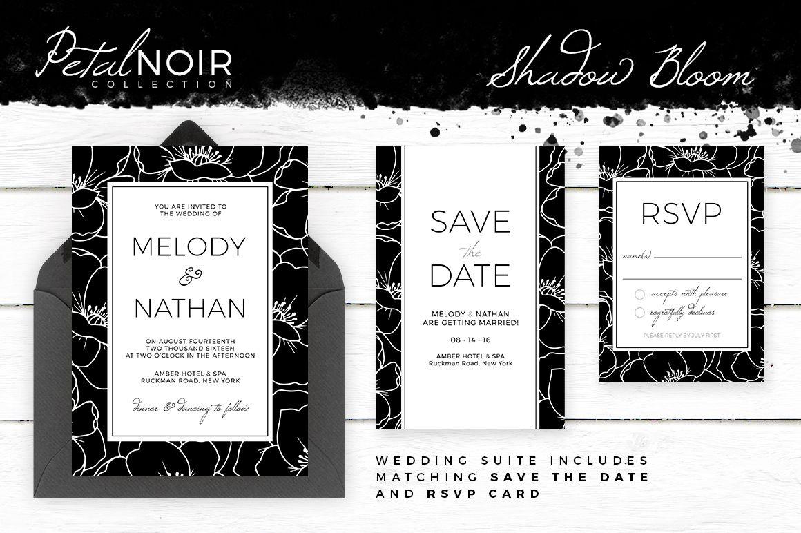 Petal Noir - Shadow Bloom | Rsvp, Vintage style weddings and Floral ...