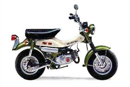 Suzuki スズキ バンバン ミニバイク 50cc バイク
